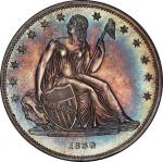 1839 Gobrecht Silver Dollar. Judd-104. Die Alignment IV, Medal Turn. Proof-64 (PCGS).