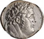 SYRIA. Phoenicia. Tyre. AR Shekel (12.84 gms), dated CY 5 (122/1 B.C.). NGC Ch EF, Strike: 5/5 Surfa