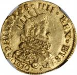 ITALY. Milan. 2 Doppie, 1630. Philip IV of Spain (1621-65). NGC MS-63.
