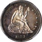 1883 Liberty Seated Quarter. Proof-65 (NGC).