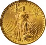1924 Saint-Gaudens Double Eagle. MS-64 (NGC).