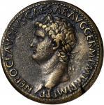 NERO, A.D. 54-68. AE Sestertius (32.38 gms), Rome Mint, ca. A.D. 64.