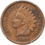 1909-S Indian Cent. Fine-12 (PCGS).