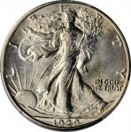 1929-D Walking Liberty Half Dollar. MS-64+ (PCGS). CAC.