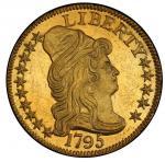 1795美国金币Capped Bust Right Half Eagle PCGS MS 64