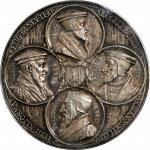SWITZERLAND. Reformation Anniversary Silver Medal, 1835. PCGS SPECIMEN-63 Gold Shield.