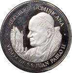 DOMINICAN REPUBLIC. 25 Pesos, ND (1979). NGC PROOF-68 Ultra Cameo.