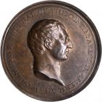C.  1777 Washington Voltaire Medal. Bronze. 40.0 mm. Musante GW-1. Baker-78B. Betts-544. MS-64BN (PC