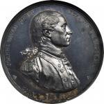 1779 Captain John Paul Jones Medal. Silver. 56 mm. Paris Mint Restrike. Betts-568, Adams and Bentley