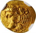 SICILY. Syracuse. Dionysios I, 406-367 B.C. AV 20 Litrai (Tetradrachm) (1.17 gms), ca. 405-400 B.C.