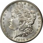 1904-S Morgan Silver Dollar. MS-66 (PCGS).