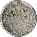 POLAND. Thorn. Brand Taler, 1629. Sigismund III Vasa (1587-1632). PCGS EF-40 Secure Holder.