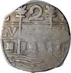 "VENEZUELA. Caracas. 2 Reales, ""142"" (1802-30). PCGS VF-30 Gold Shield."