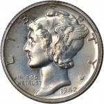 1942 Mercury Dime. Proof-68 (PCGS). CAC. OGH--First Generation.