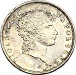 Monete e Medaglie di Zecche Italiane, Napoli.  Gioacchino Murat (1808-1815). . Lira 1813. P/R 17. MI