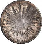 1883 墨西哥。奇瓦瓦。1883年8雷阿尔。