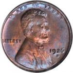 1926-D Lincoln Cent. MS-65 RB (NGC).