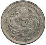 北洋造光绪25年三分六厘 PCGS XF 45 CHIHLI: Kuang Hsu, 1875-1909, AR 5 cents, Peiyang Arsenal mint, year 25 (189
