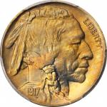 1917 Buffalo Nickel. MS-66+ (PCGS). CAC.