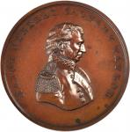 1846 Major General Zachary Taylor. Bronze. 64.5 mm. Julian MI-22. Mint State.