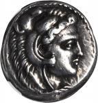 MACEDON. Kingdom of Macedon. Alexander III (the Great), 336-323 B.C. AR Tetradrachm (17.25 gms), Cit