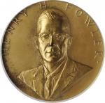 1966 United States Assay Commission Medal. Bronze. 57 mm. By Frank Gasparro and Philip Fowler. JK AC