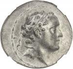 SELEUKID KINGDOM: Seleucus IV, 187-175 BC, AR tetradrachm 4016。36g41, BMC-12, SC-1313。1, SMA-39, dia