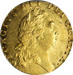 GREAT BRITAIN. Guinea, 1793. London Mint. George III. PCGS AU-58 Gold Shield.