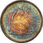 1866-S Liberty Seated Half Dime. MS-67 (PCGS). CAC.