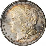 1878-S Morgan Silver Dollar. MS-66+ (PCGS). CAC.