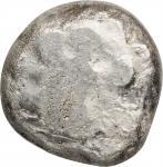 CARIA. Kaunos. AR Stater, ca. 470-450 B.C. NEARLY VERY FINE.