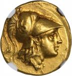MACEDON. Kingdom of Macedon. Alexander III (the Great), 336-323 B.C. AV Stater (8.53 gms), Sardes Mi