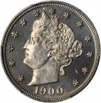 1900 Liberty Head Nickel. Proof-66 (PCGS).