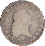 1795 Flowing Hair Half Dollar. O-114, T-15. Rarity-6. Two Leaves. Fair-2 (PCGS). CAC.