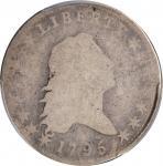 1795 Flowing Hair Half Dollar. O-114, T-15. Rarity-6. Two Leaves. Fair-2 (PCGS). CAC.