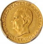 1916 McKinley Memorial Gold Dollar. Unc Details--Cleaned (PCGS).