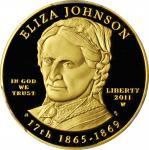2011-W First Spouse Gold Bullion Coin. Eliza Johnson. Proof-69 Deep Cameo (PCGS).