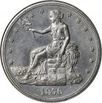 1876 Trade Dollar. Type I/I. MS-62 (NGC).