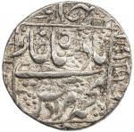 India - Mughal Empire. MUGHAL: Murad Bakhsh, 1658, AR rupee (11.48g), Ahmadabad, year one (ahad), KM