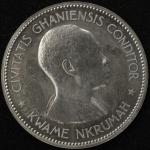 GHANA ガーナ 10Shillings 1958   Proof