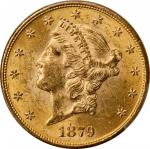 Lot of (3) 1879 Liberty Head Double Eagles. MS-61 (PCGS).