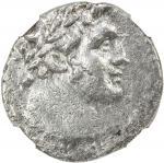 TYRE: AR tetradrachm 4013。22g41, year 70 4057/6 BC41, DCA Tyre-238, HGC 10-357, DCA-919, laureate he