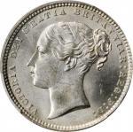 GREAT BRITAIN. Shilling, 1870. London Mint. Victoria. PCGS MS-63 Gold Shield.
