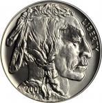 2001-D American Buffalo Silver Dollar. MS-68 (PCGS).