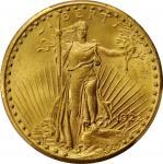 1922-S Saint-Gaudens Double Eagle. Unc Details--Cleaned (PCGS).