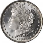 1884-O Morgan Silver Dollar. MS-67 (PCGS).
