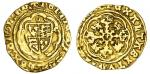 Henry IV (1399-1413), Heavy coinage, Quarter-Noble, 1.75g, mm. cross patt馥, hen/ric瀦 dei?gra?rex?ang
