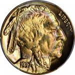 1937 Buffalo Nickel. MS-68+ (PCGS).