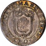 ITALY. Venice. 1/2 Scudo, ND (1779)-LAF. Paolo Renier. PCGS MS-64 Gold Shield.