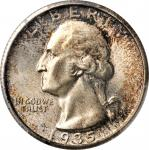 1935-S Washington Quarter. MS-67+ (PCGS). CAC.